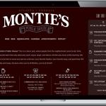 Monties Pub Website
