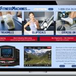 Home fitness website