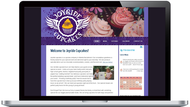 Cupcake Web Design