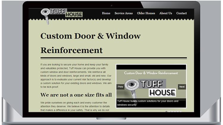 Tuff house door reinforcement