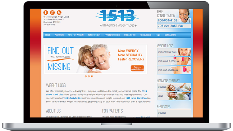 Wellness website