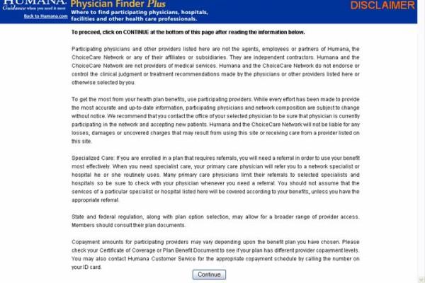 Physician Finder Usability Study - Sandy Nichols Web Design