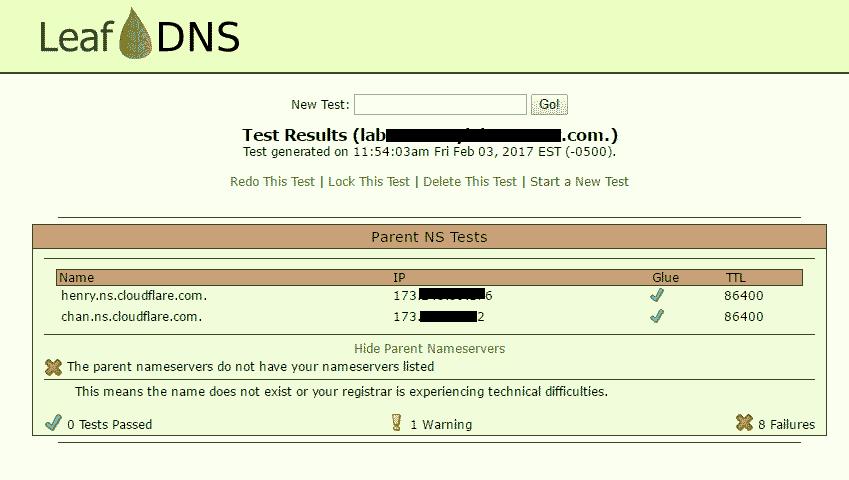 LeafDNS