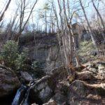 Rock Cliffs straight up
