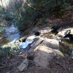 looking down stream